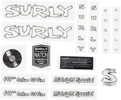 Surly Midnight Special Decal Set alternate image 1