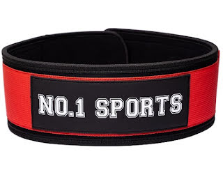 No.1 Sports Wod Belt Red