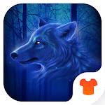 Blue Wolf Theme for Android