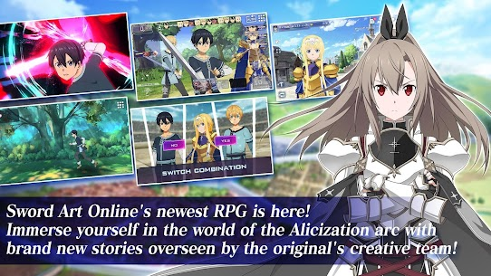 Sword Art Online Alicization Rising Steel Mod Apk (God Mode) 1.14.0 6