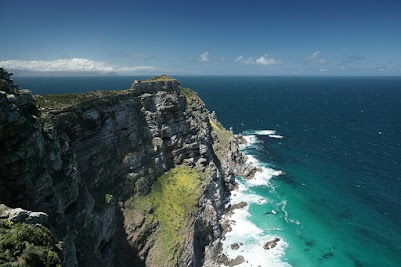 Windumtoste Klippen des Cape Point