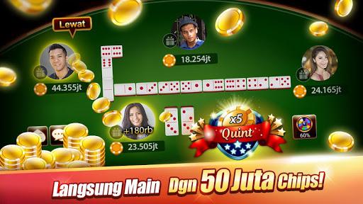 LUXY : Domino & Pokeru00a0u2013 Gaple QiuQiu QQ 99 5.1.3.1 screenshots 1