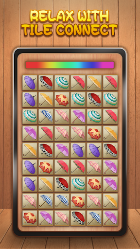 Tile Connect - Free Tile Puzzle & Match Brain Game 1.4.1 screenshots 1