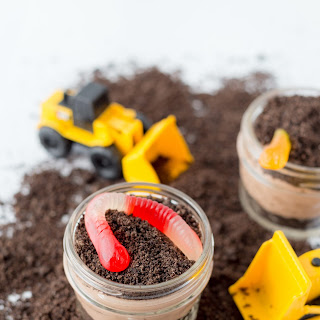 Construction Dirt Cups