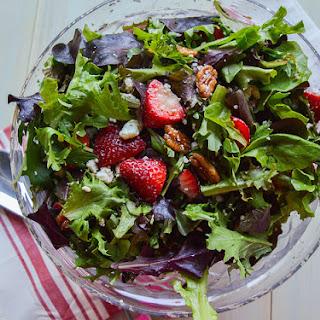Sweet Spring Strawberry Salad.
