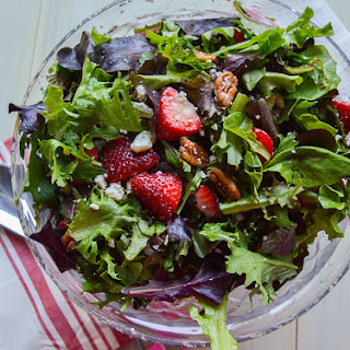 Sweet Spring Strawberry Salad.