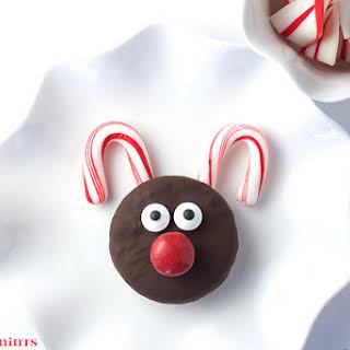 Oreo Rudolph Cookies.
