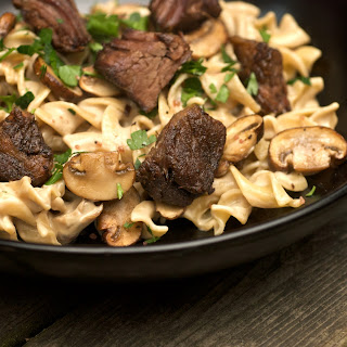 Slow Cooked Beef Stroganoff Recipe