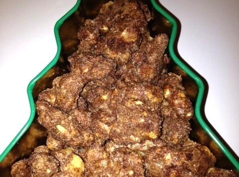 Cinnamon Sugared Walnuts Recipe