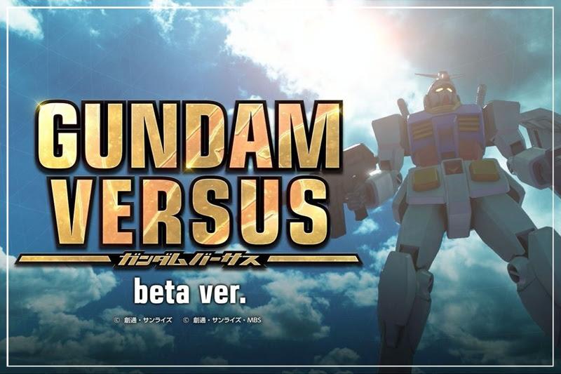 [Gundam Versus] เปิด CBT พร้อมกัน 4 ประเทศ