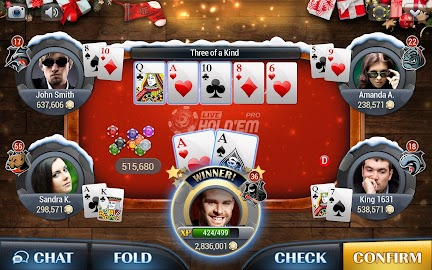 Live Hold'em Pro – Poker Games Screenshot 15