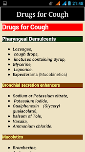 Classification of Drugs- screenshot thumbnail
