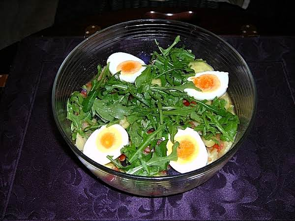 My Potato Salad With Eggs And Spring Onion Recipe