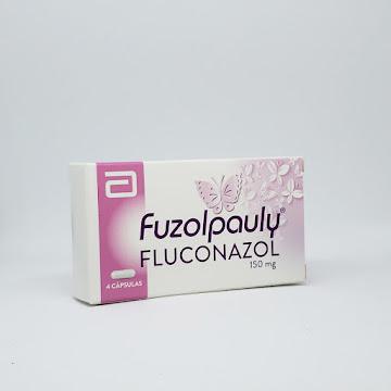 Fuzolpauly 150mg Cápsula   Caja X4Cáp. PAULY Fluconazol