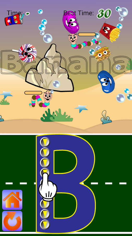 Letter Trace Battle-Lite(Free) - Android Apps on Google Play