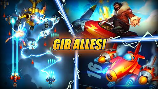 HAWK: Weltraum schießspiele. Flugzeug Schlachten screenshot 2