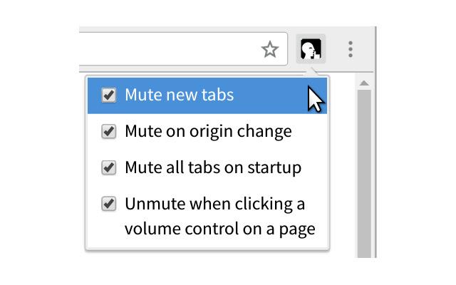 Mute New Tabs