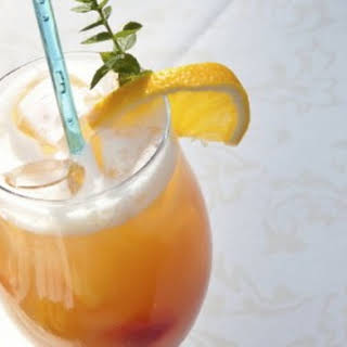 Mandarin Rum Cocktail.