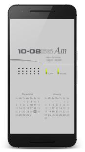 "PsPsClock ""Mate"" - Music Alarm Clock & Calendar - náhled"