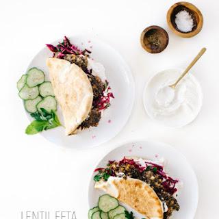 Lentil Feta Fritters with Fresh Mint Slaw & Coriander Yogurt & A Lentil Farm Visit in Saskatoon!