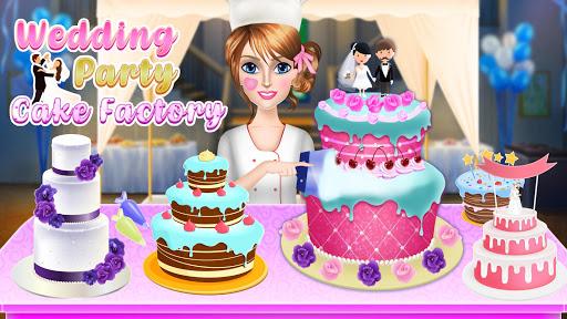 Wedding Party Cake Factory: Dessert Maker Games screenshots 1