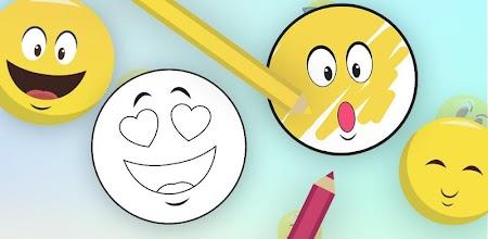 Mon Emoji Livre De Coloriage Jeu Peinture Emojis Apk