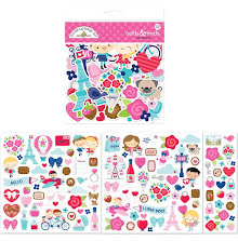 Doodlebug Odds & Ends Die-Cuts 113/Pkg - French Kiss