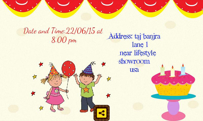 Birthday Invitation card maker Revenue Download estimates