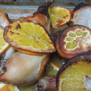 Chicken With Oranges And Honey