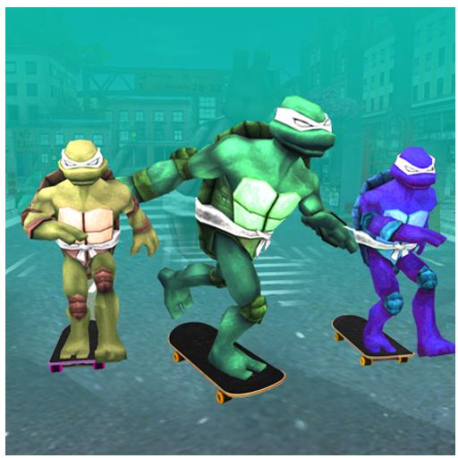 Skating Ninja Warriors