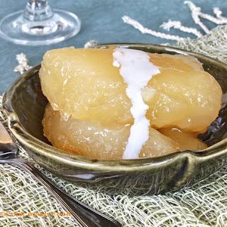 Thai Dessert - Candied Cassava Root