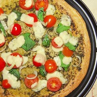 Vegan Quinoa Pizza Crust.