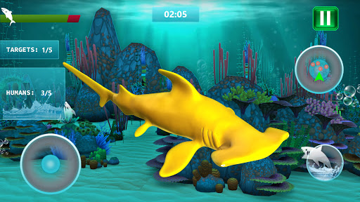 Hungry Shark Attack Simulator: New Hunting Game 30.8 screenshots 3