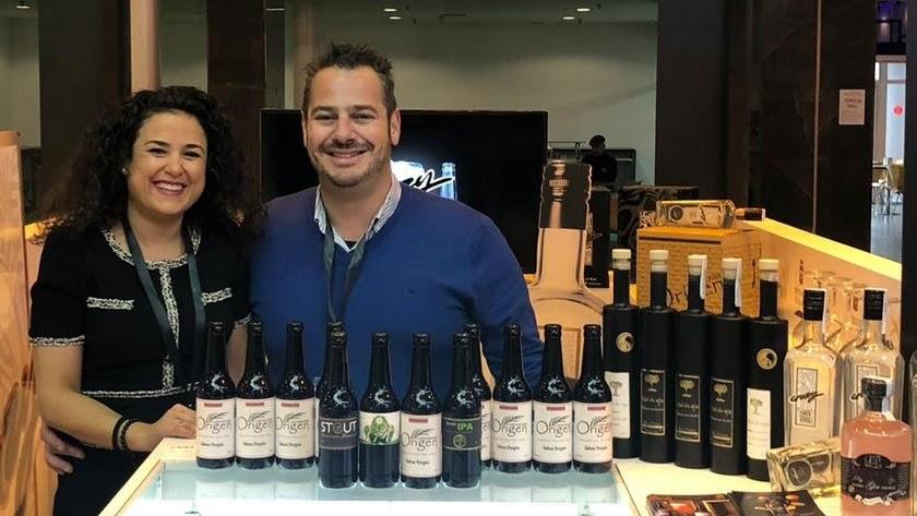 Daniel Martínez y su esposa Anabel Ortega, de Cerveza Origen.
