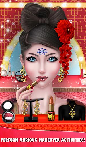 Chinese Girl Fashion Doll Dressup  screenshots 4
