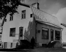Photo: 1960 Sopukadun kauppa ja Aaro Laaksonen
