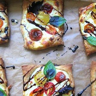 Cherry Tomato & Ricotta Tarts