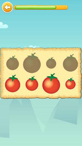 Carakuato frutas y verduras - juegos para niños capturas de pantalla 6