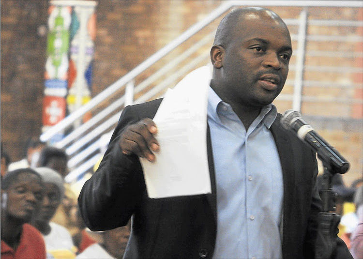 Solly Msimanga. Picture: THE TIMES