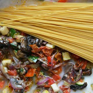 Creamy One Pot Italian Vegetable Pasta