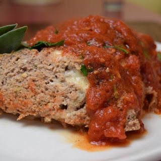 Turkey Polpettone with Marinara Sauce