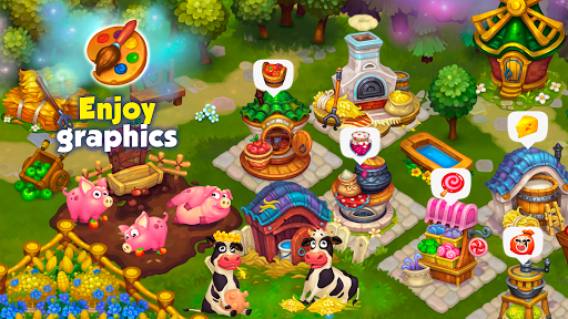 Wonder Valley: Enchanted Farm with Fairy tales android2mod screenshots 9