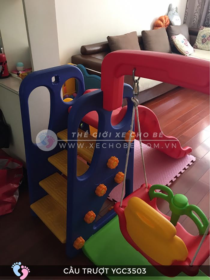 Cầu trượt trẻ em đa năng YGC-3503 6