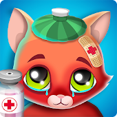 Virtual Cat Doctor: Pet Vet Games