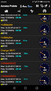 WiFi Analyzer Premium screenshot