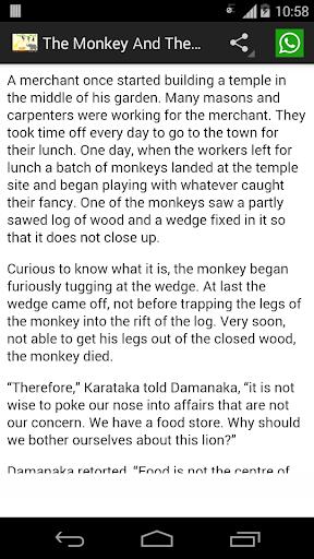 Panchatantra Stories English