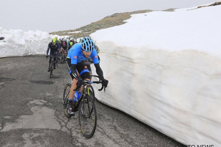 Gavia een week voor Giro-passage nog onderbesneeuwd: organisatie hoopt plan B te vermijden