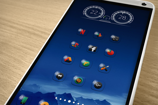 Screenshot for Glasso - Icon Pack in United States Play Store