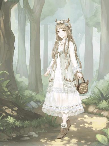 森のエルク