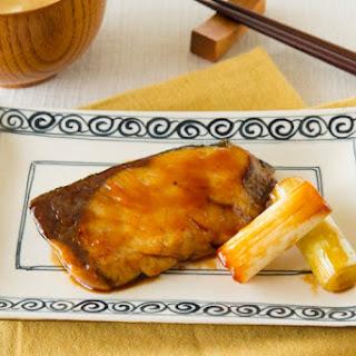 Gluten Free Japanese Amberjack Teriyaki